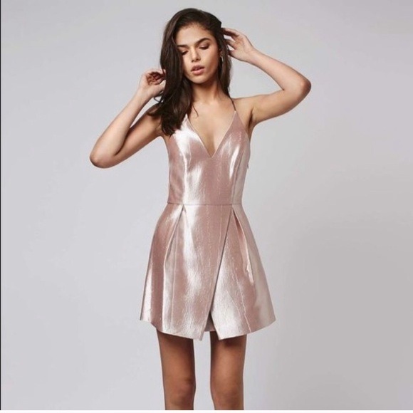 Metallic Pink Dresses